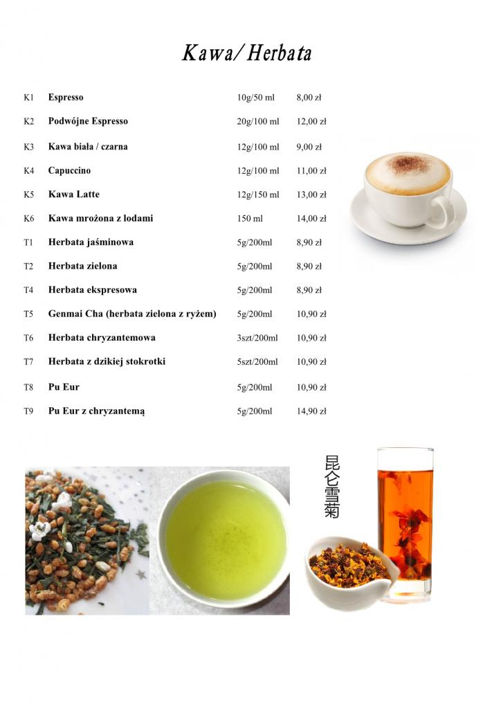 herbaty i kawa