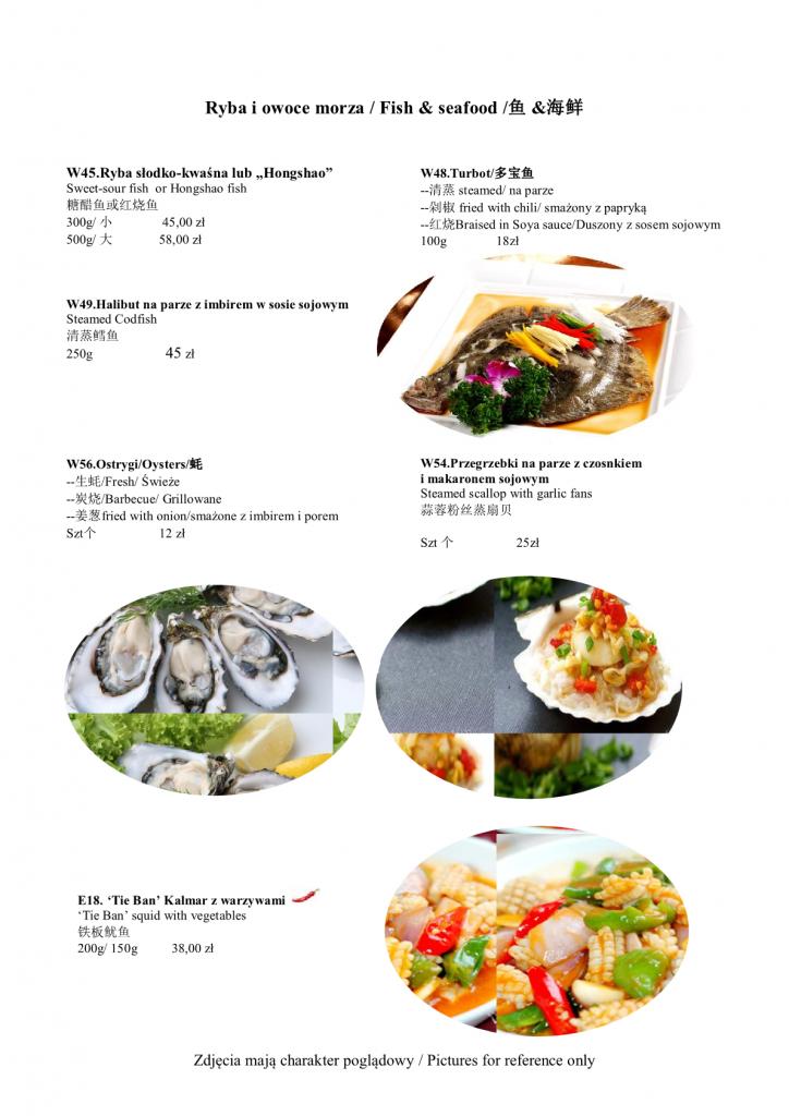 Ryby i owoce morza CANTON